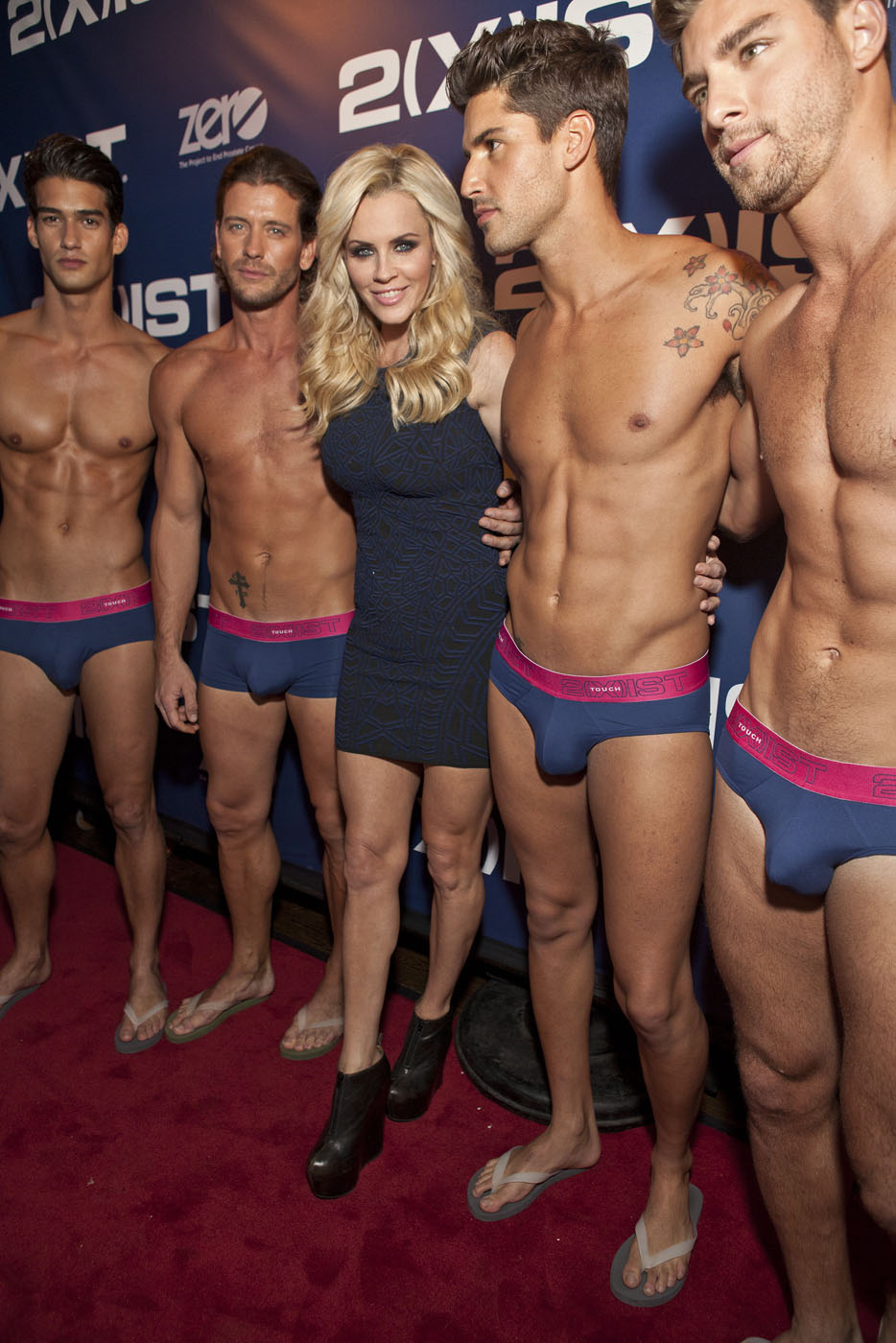 Male underwear fashion show video 37