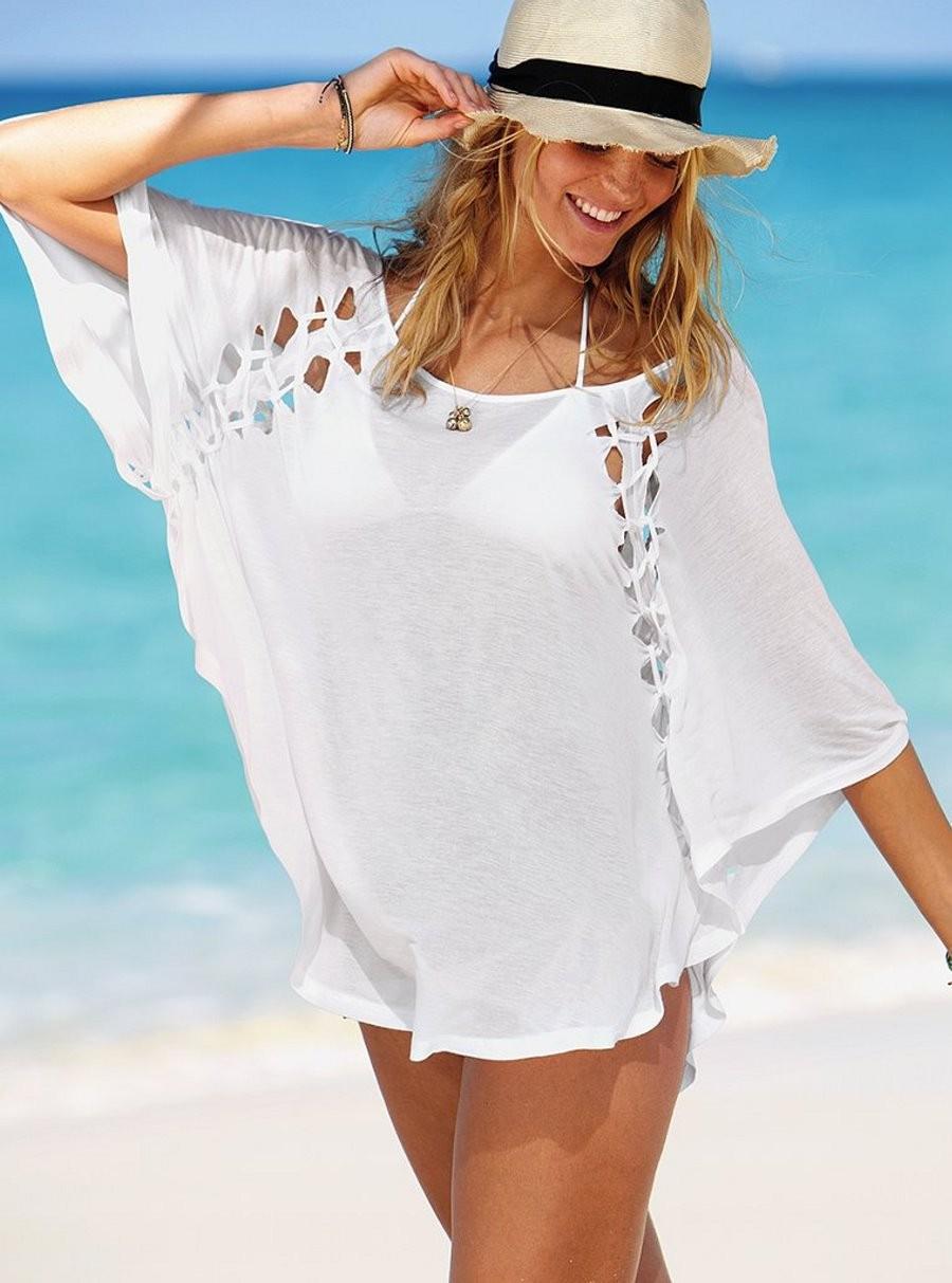 Одежда Для Полных Женщин Для Пляжа