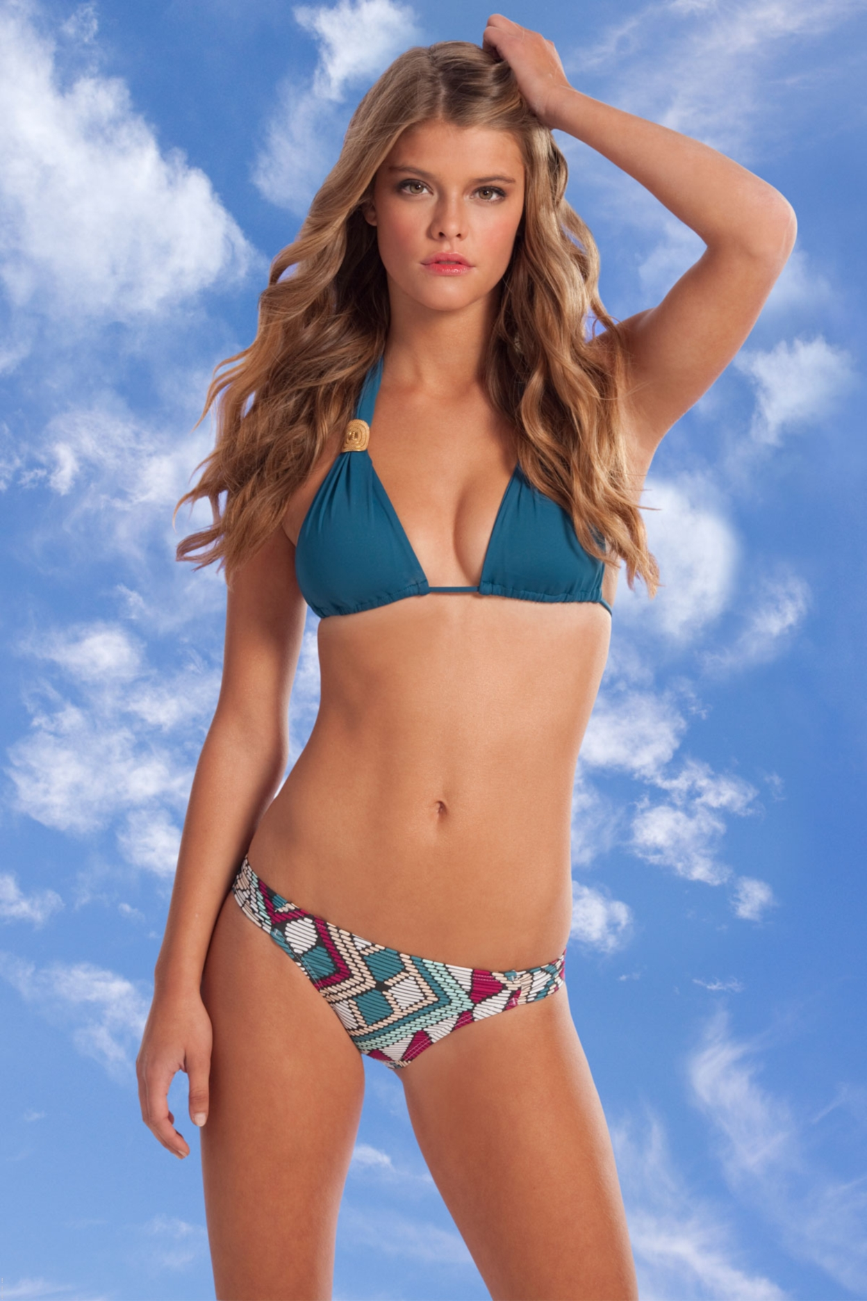 Similar Design: Models Inspiration Nina Agdal Calzedonia 2011 Hq.