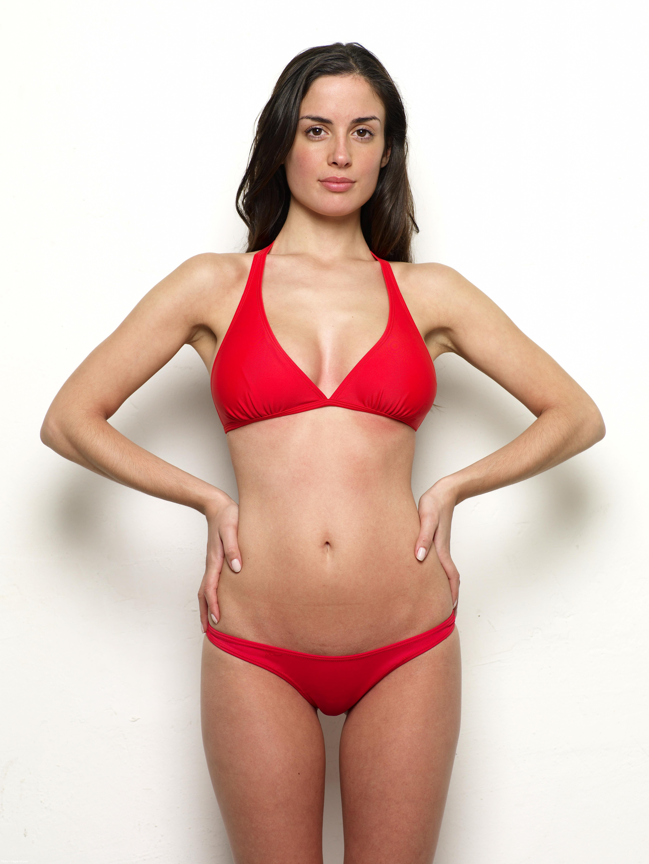 Muriel Red Bikini 10