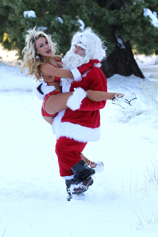 Santa humping erotica picture
