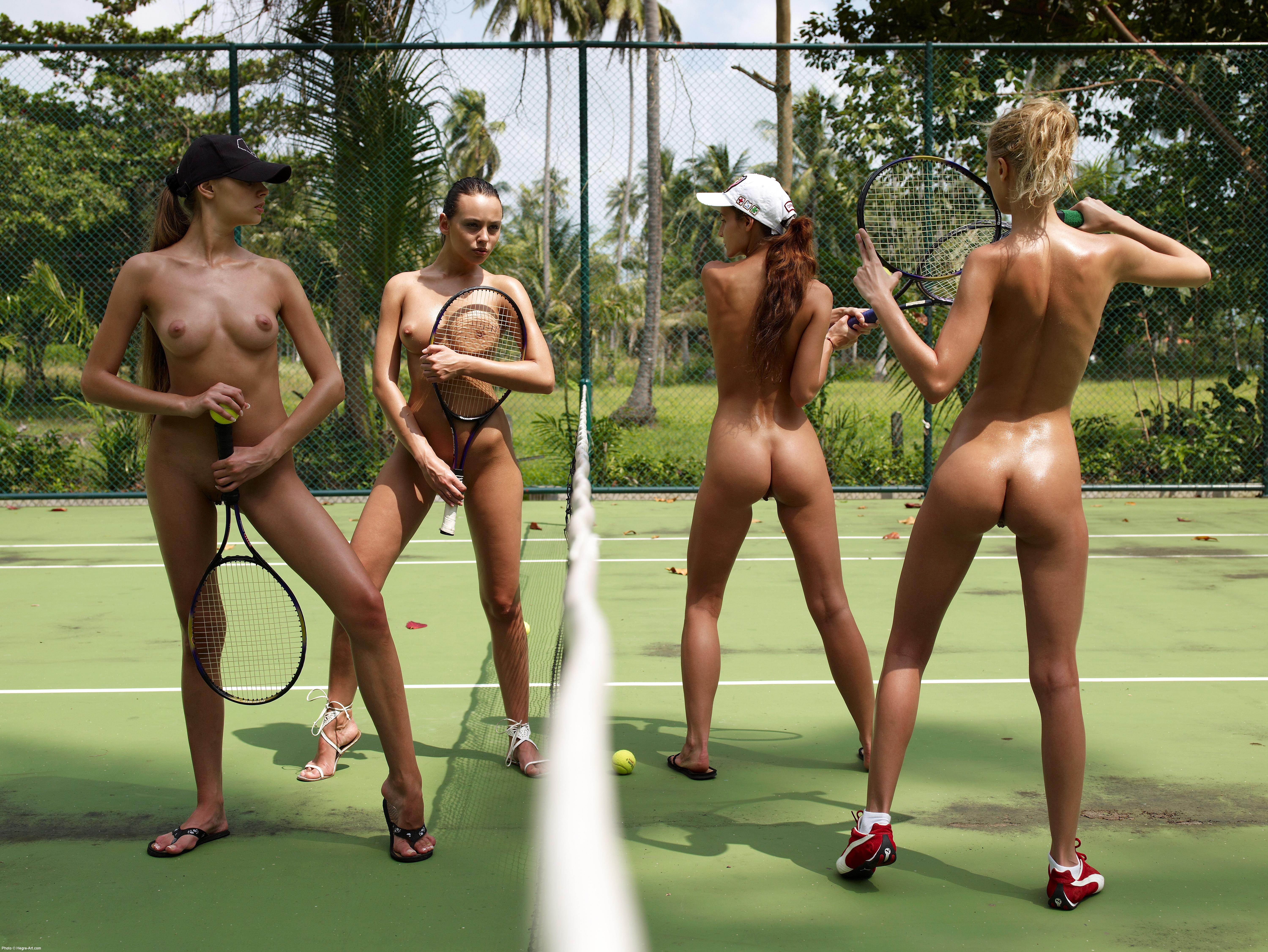 Nude women tennis players naked consider, that
