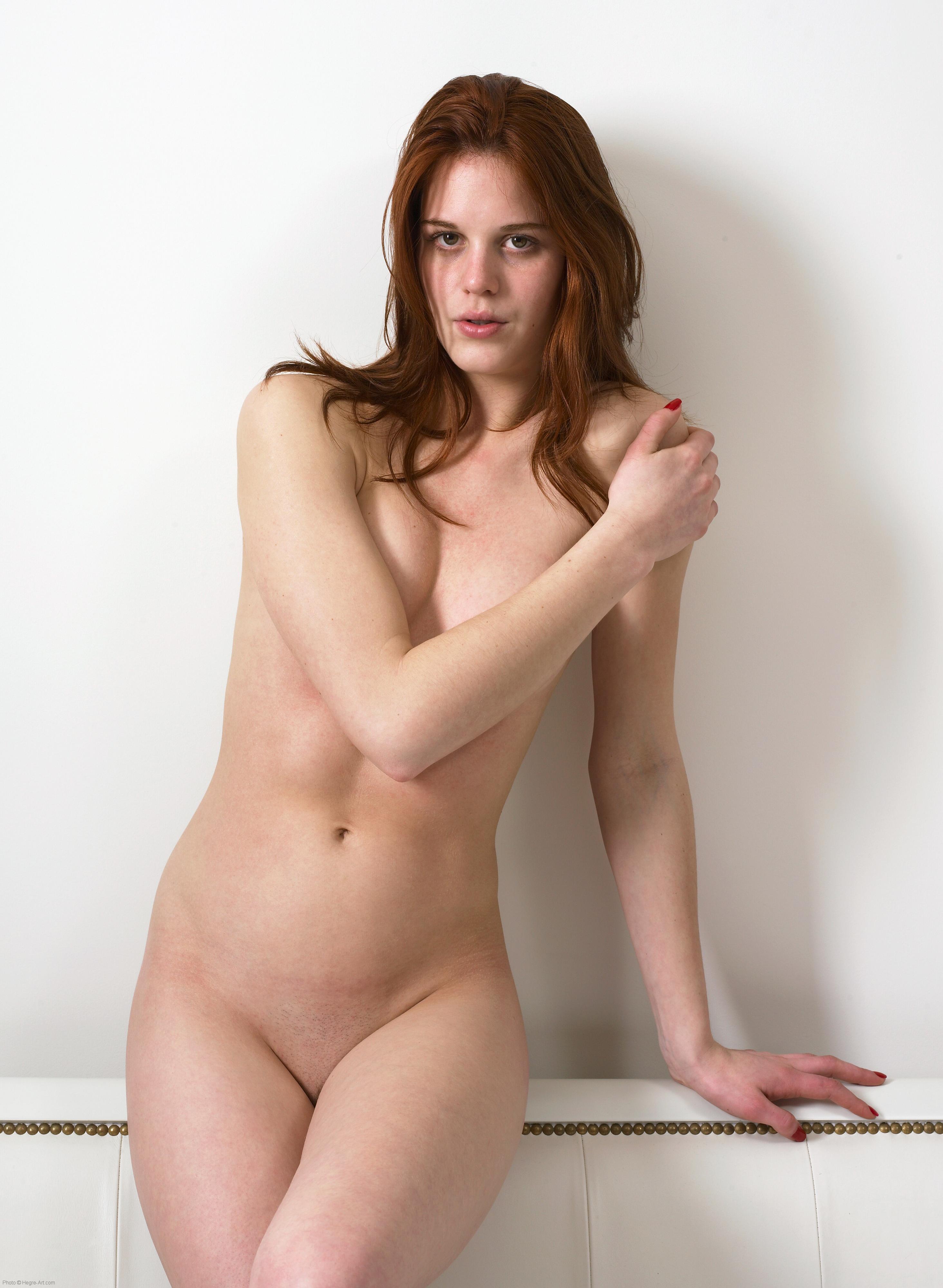 girl fucks herself outdoors nude