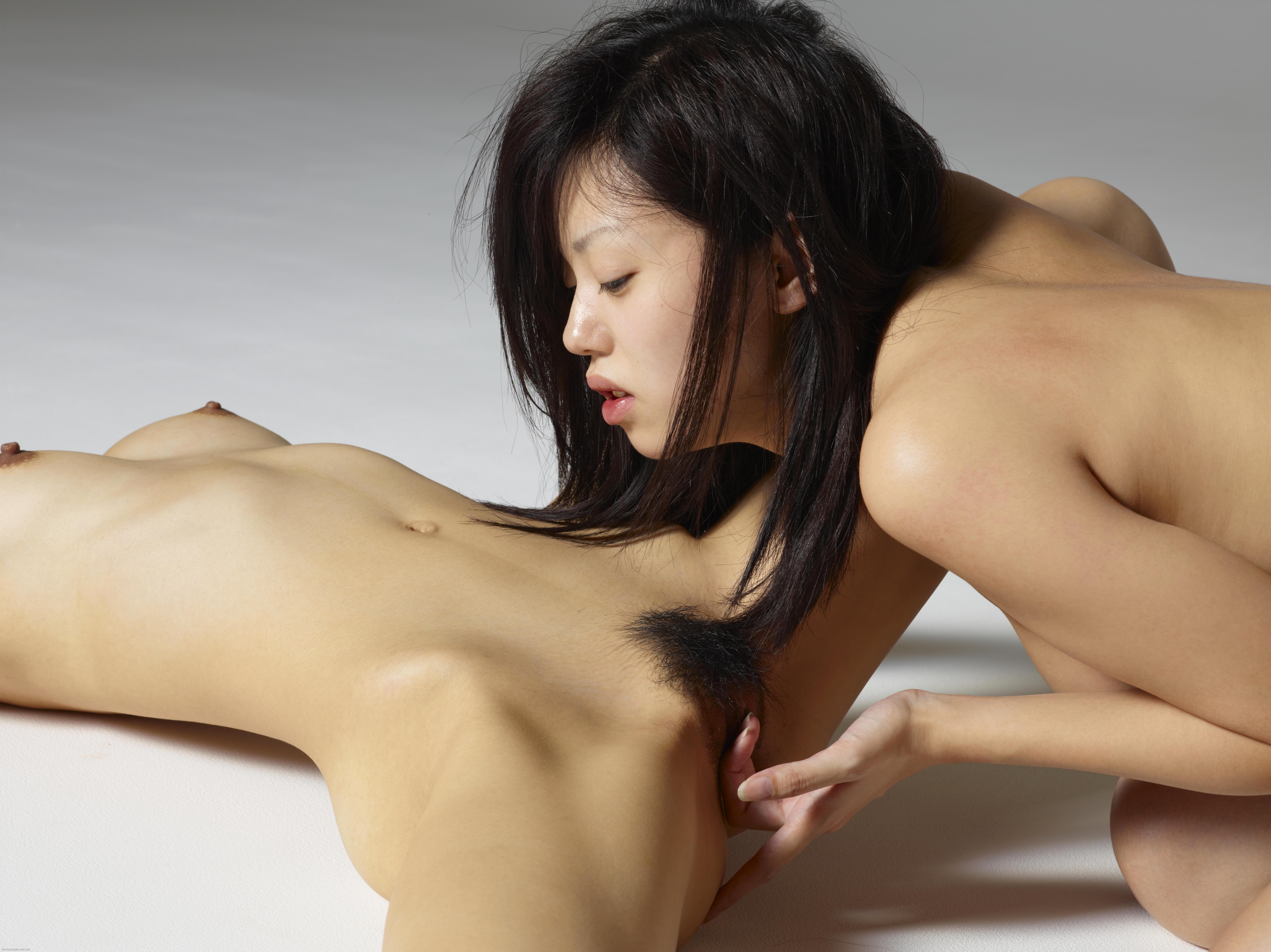Lesbian tongue fetish porn