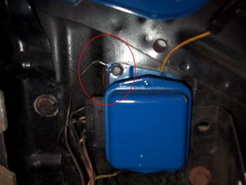 alternator wiring ford truck enthusiasts forums regulator ford wiring 1964voltage i have a 74 and a 79 and on both of my trucks the wire your talking about appears to be a ground and is hooked up using one of the voltage regulator screws
